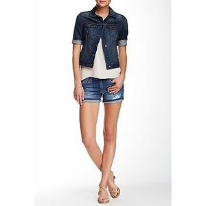 Joe's Jeans Marylee Distressed Shorts 25
